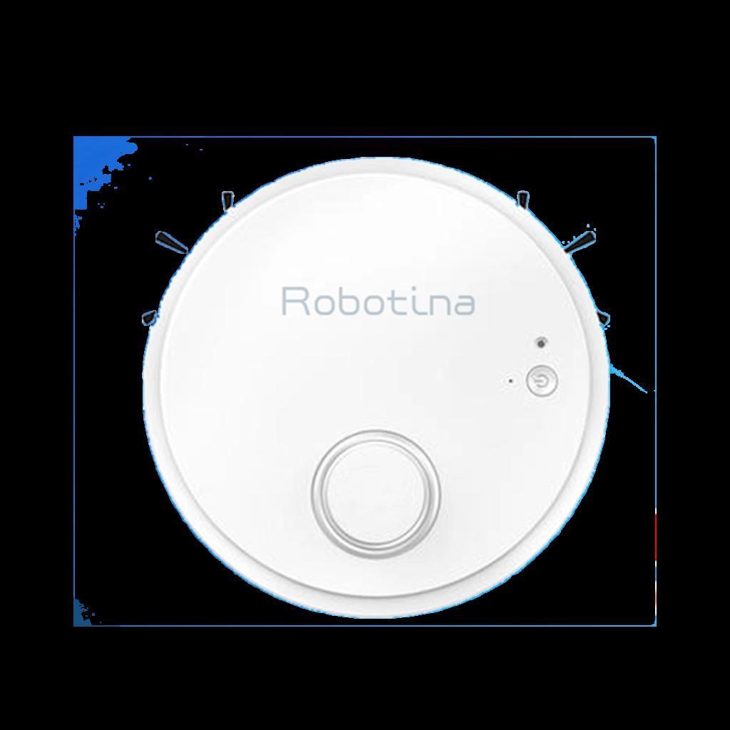 Robotina η ρομποτική σκούπα καθαρίζει μόνη της σε κάθε γωνιά του σπιτιού σας